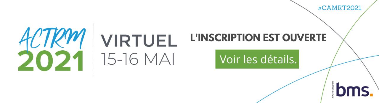 CAMRT 2021 Registration French