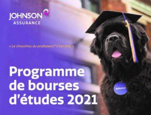 Johnson Insurance 2021 Scholarship French